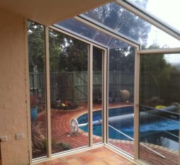 Aluminium Hooded Sashless Window