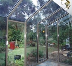 Aluminium Hooded Window Commercial 400 Series
