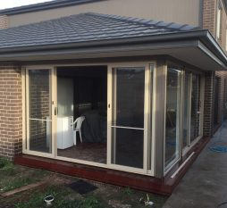 Aluminium Sliding Door 4 Panel Primrose
