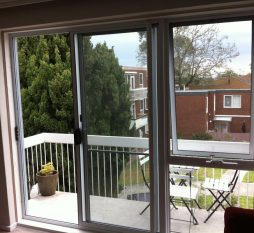 Aluminium Sliding Door And Awning Window Replacement Inside