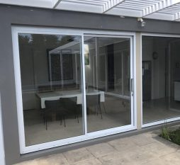 Aluminium Sliding Door And Fixed Window
