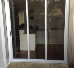 Aluminium Stacker Door 3 Panel (1