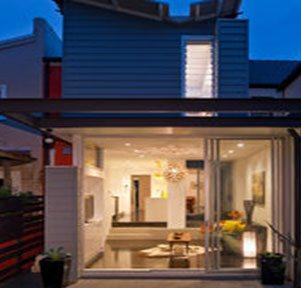 Aluminium Stacker Doors Provide