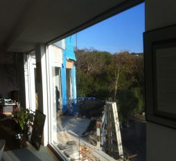 Commercial Siliconed Joined Window
