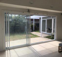 Elsternwick Aluminium Stacker Door 3 Panel (1