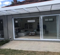 Elsternwick Aluminium Stacker Door 3 Panel (2
