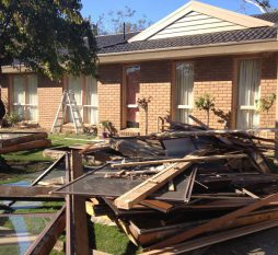Mt Eliza Timber Awning Windows During Replacement
