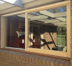 Mt Eliza Timber Sliding Window