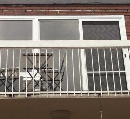 Rosebud Aluminium Sliding Door And Awning Combination Outside