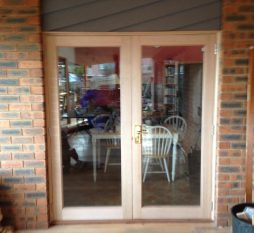 Timber French Doors (1