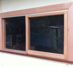 Timber Sliding Window 1