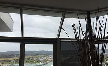 Raked & Hooded Windows